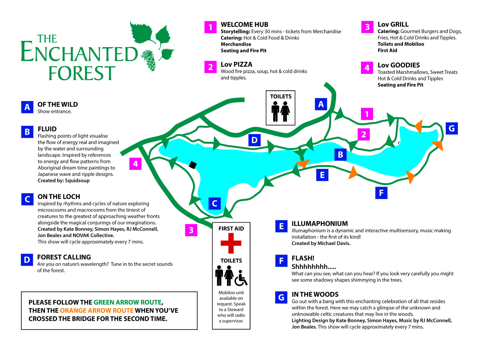 Pitlochry Scotland Map.The Event The Enchanted Forest